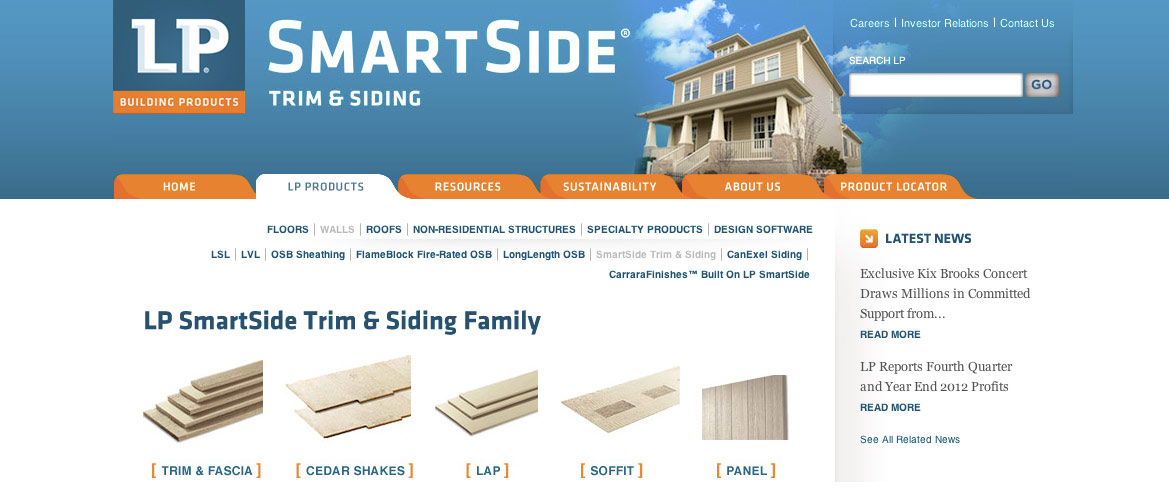 Lp Smartside Forest Specialties Inc